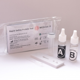 Rapid Saliva Protein Test (RSPT)  -  £29.99 / €34.99 / $39.99 per test (Box of 50)